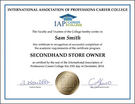 Certificate-SEC