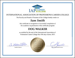 certificate-dog-walker