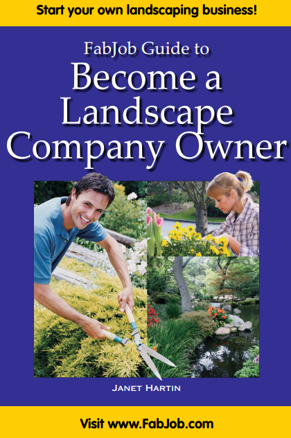 Become a Landscape Company Owner