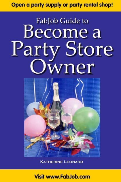 Become a Party Store Owner