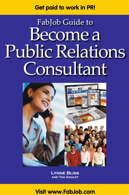 Become a Public Relations Consultant