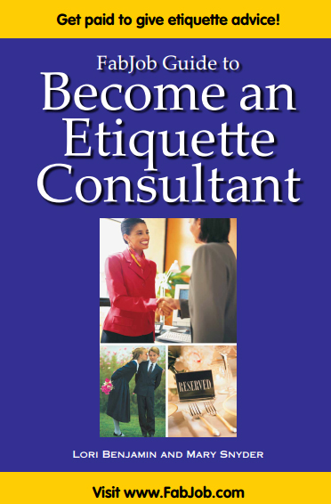 Become an Etiquette Consultant