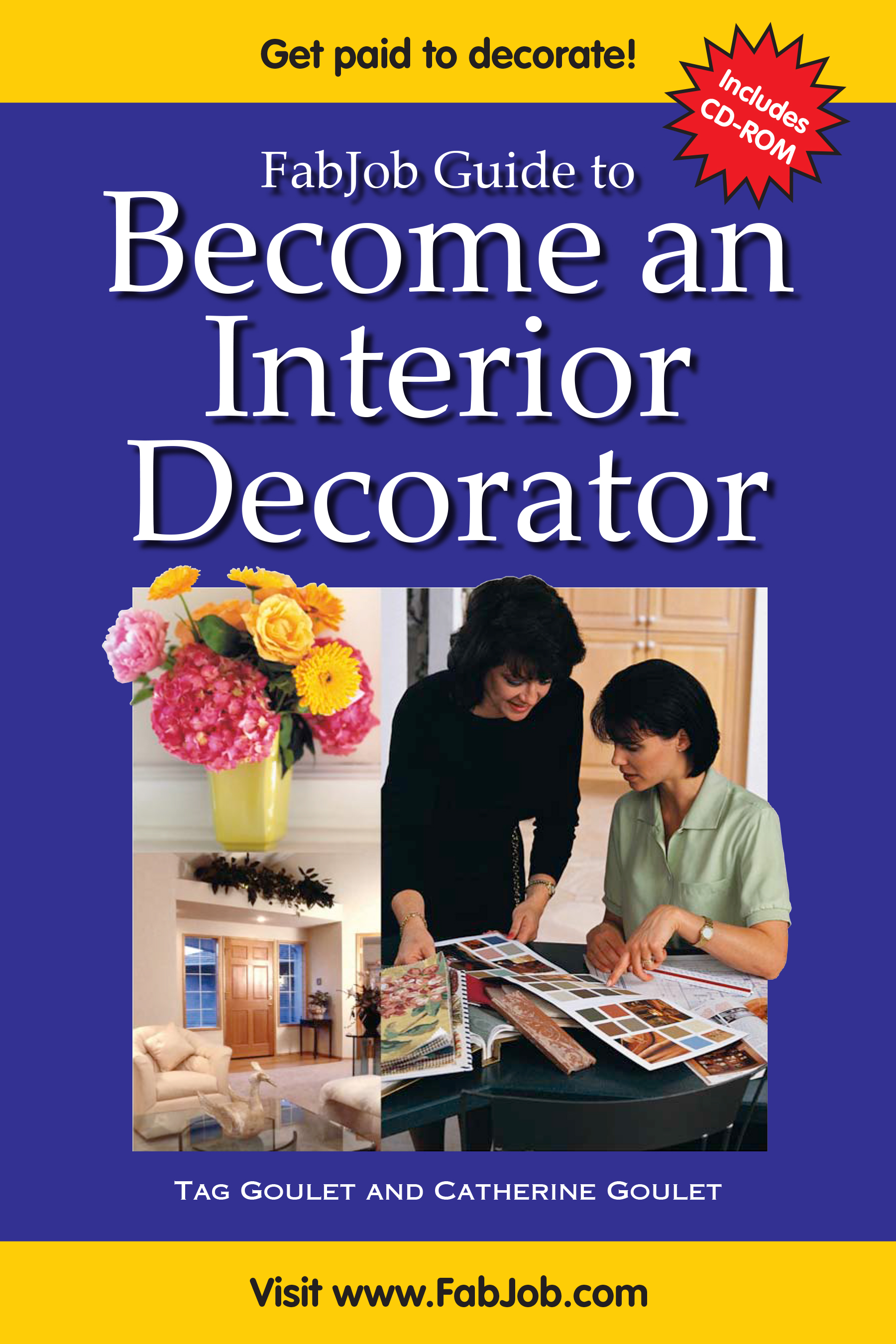 Become An Interior Decorator (Print Book U0026 CD ROM Set)