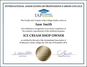certificate-ICE-CREAM-SHOP-owner