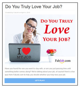 Do You Truly Love Your Job?