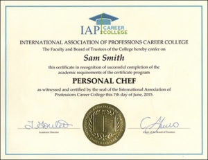 Become a personal chef get a personal chef certificate and earn more yelopaper Images